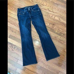 American Eagle Super Stretch Artist Jeans-Sz 6.EUC